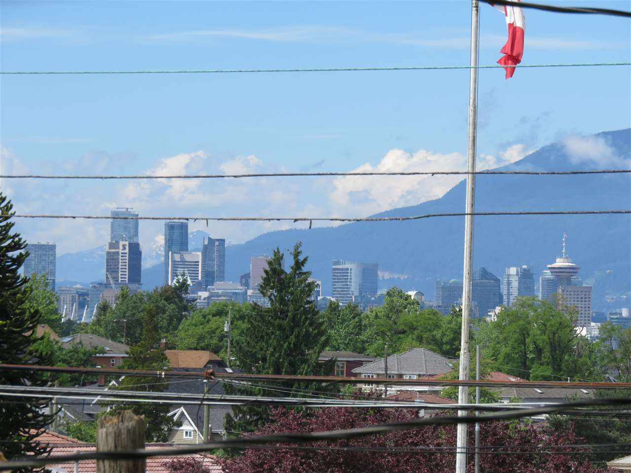 North-west view to Downtown Vancouver!