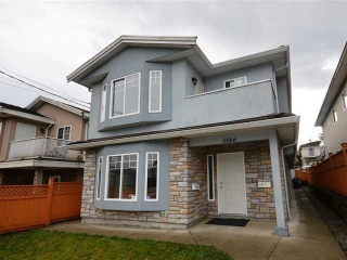 Main Photo: 6068 WOODSWORTH Street in Burnaby: Central BN House 1/2 Duplex for sale (Burnaby North)  : MLS(r) # R2181290