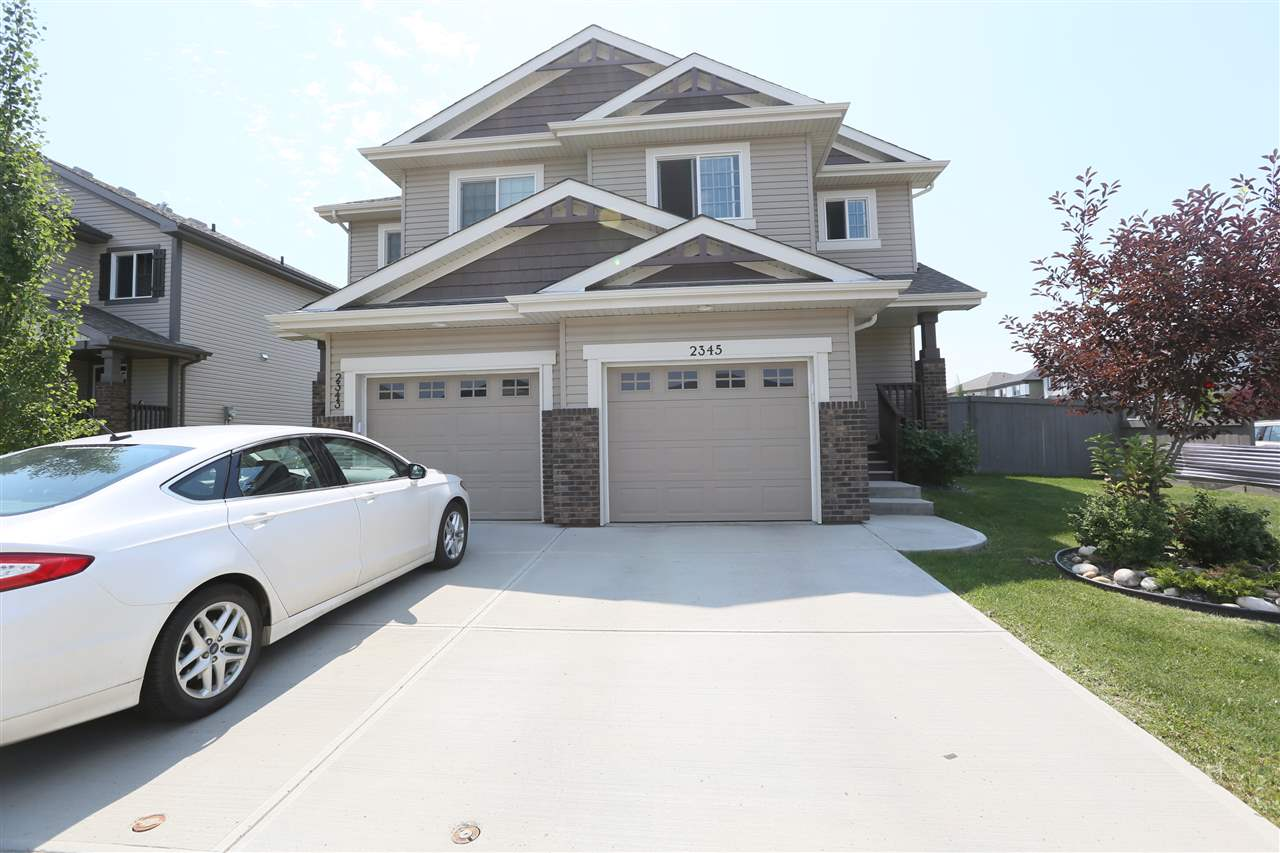 Main Photo: 2345 CASSELMAN Crescent SW in Edmonton: Zone 55 House Half Duplex for sale : MLS® # E4073409