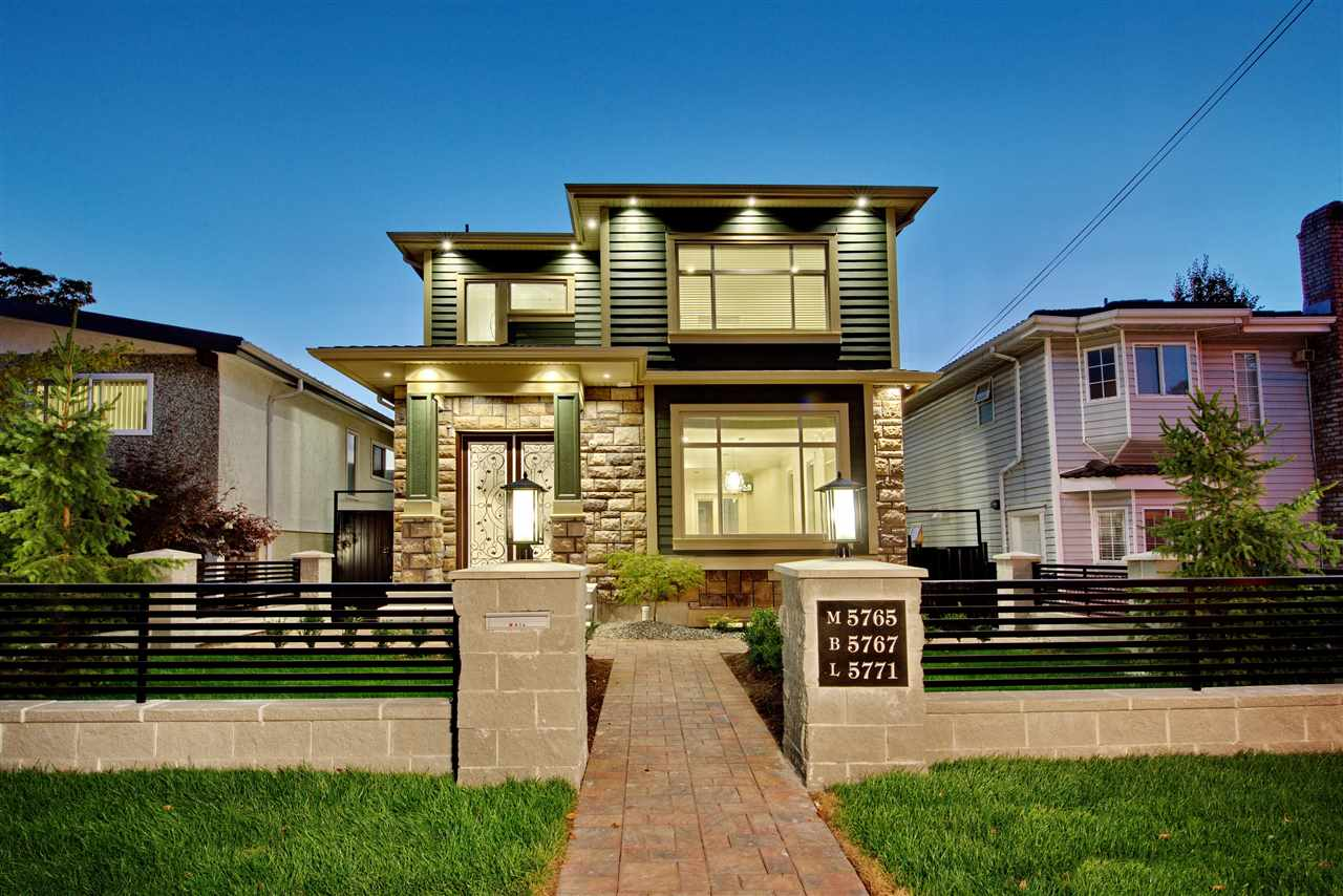 Main Photo: 5765 WALES Street in Vancouver: Killarney VE House for sale (Vancouver East)  : MLS® # R2202253