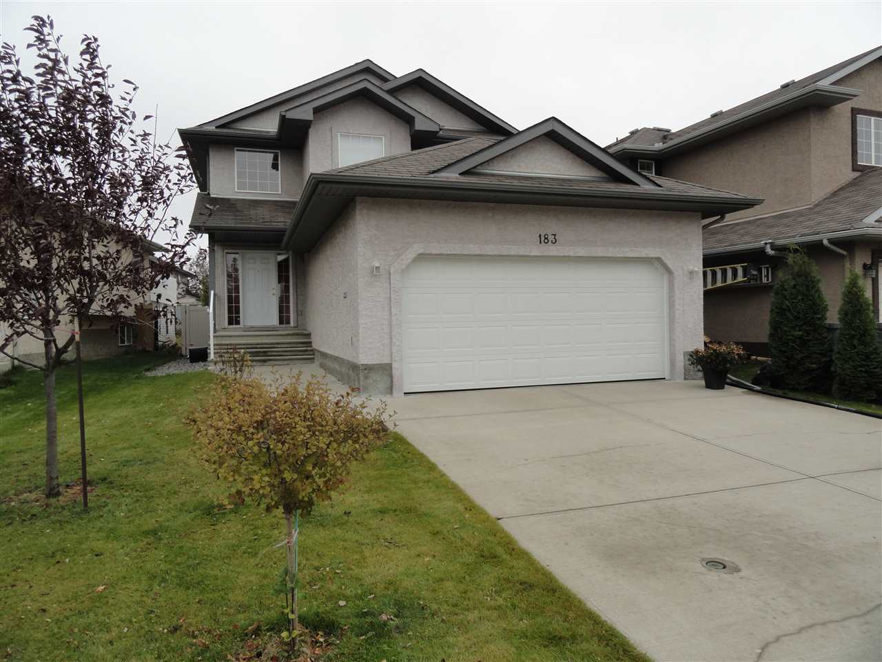 Main Photo: 183 Castle Drive in Edmonton: Zone 27 House for sale : MLS® # E4085311