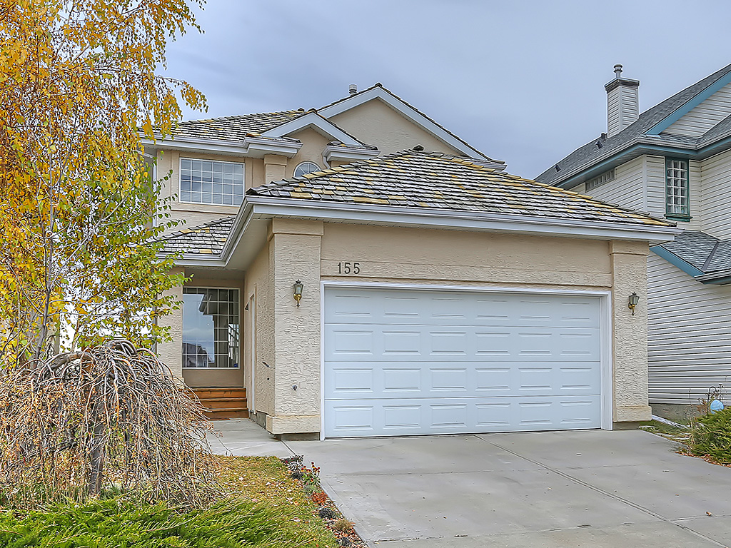Main Photo: 155 Chaparral Ridge Circle SE in Calgary: Detached for sale : MLS®# C4087957