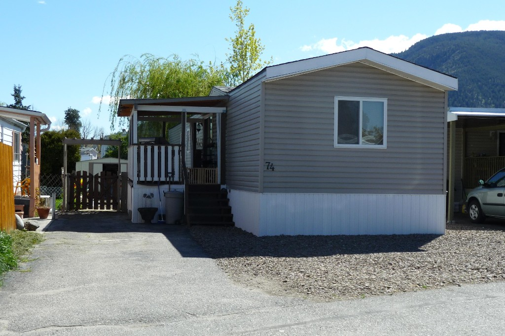 Main Photo: 74 3999 Skaha Lake Road in Penticton: Manufactured for sale : MLS® # 139890
