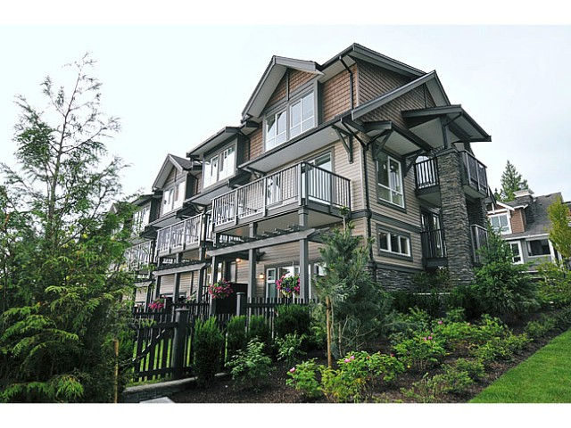 "Main Photo: 119 1480 SOUTHVIEW Street in Coquitlam: Burke Mountain Townhouse for sale in ""CEDAR CREEK"" : MLS® # V1045909"