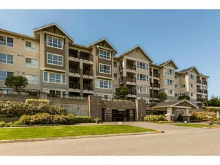 "Main Photo: 217 19673 MEADOW GARDENS Way in Pitt Meadows: North Meadows Condo for sale in ""THE FAIRWAYS"" : MLS® # V1139659"