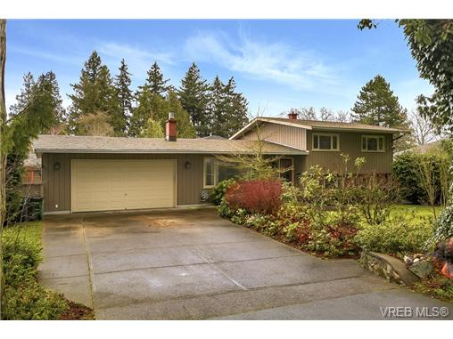 Main Photo: 742 Haliburton Road in VICTORIA: SE Cordova Bay Single Family Detached for sale (Saanich East)  : MLS®# 361312