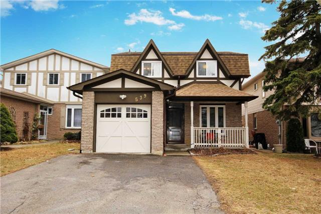 Main Photo: 539 Downland Drive in Pickering: West Shore House (2-Storey) for sale : MLS® # E3435078