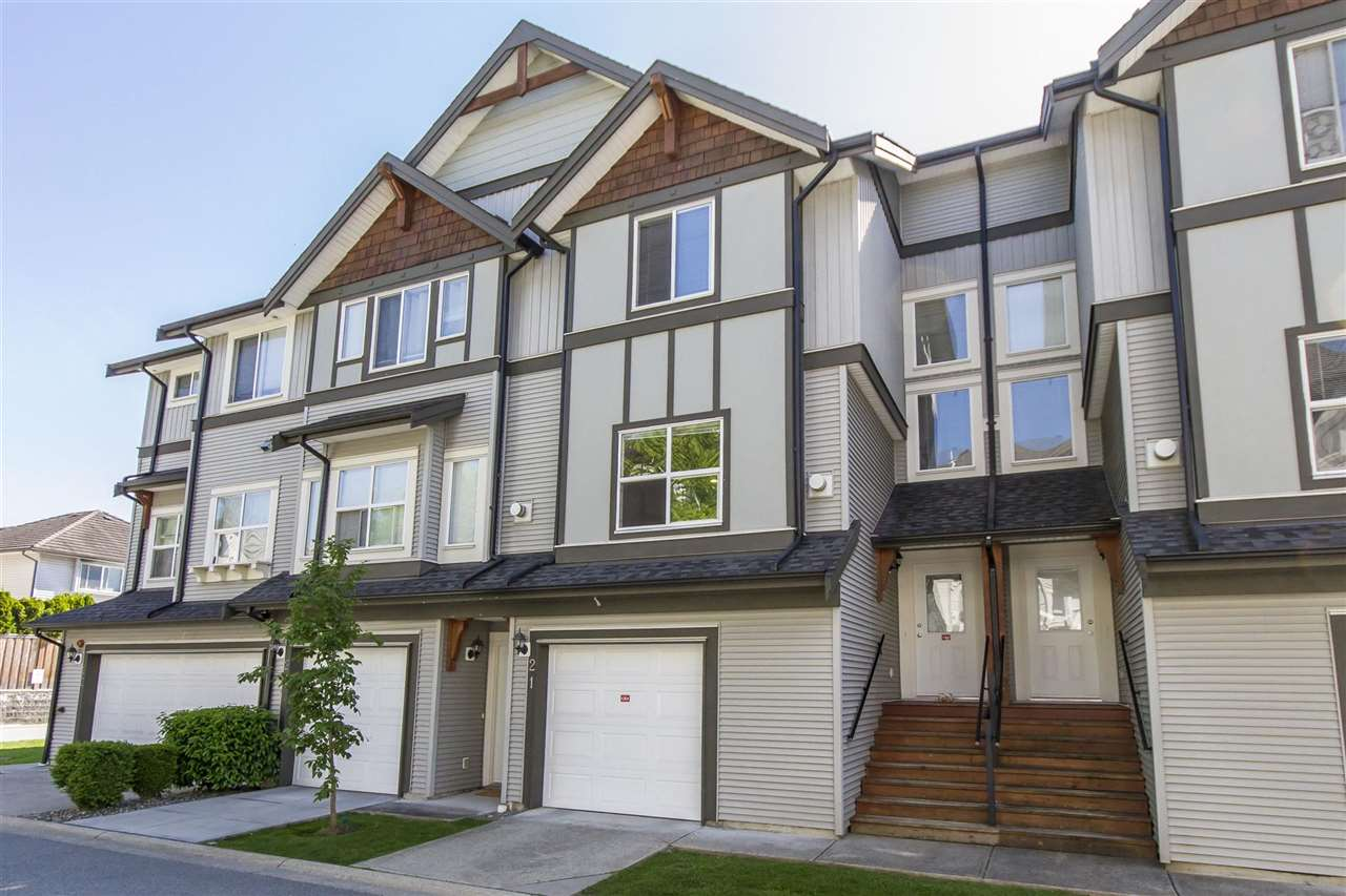 Main Photo: 21 1055 RIVERWOOD Gate in Port Coquitlam: Riverwood Townhouse for sale : MLS® # R2171897