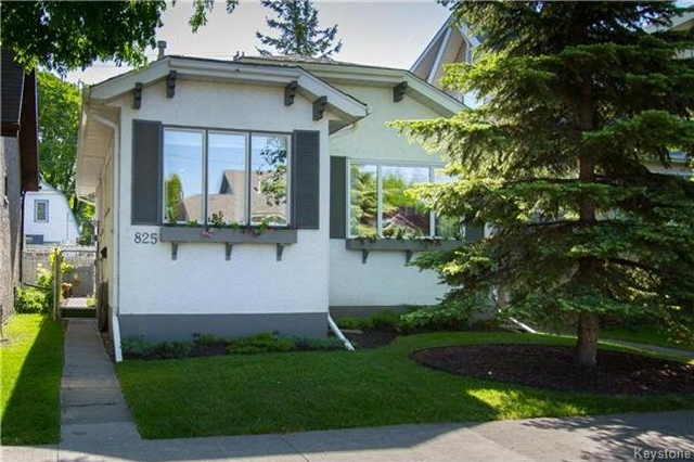 Main Photo: 825 Sherburn Street in Winnipeg: West End Residential for sale (5C)  : MLS®# 1714492