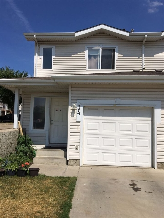 Main Photo: #34 130 HYNDMAN Crescent NW in Edmonton: Zone 35 House Half Duplex for sale : MLS® # E4073596