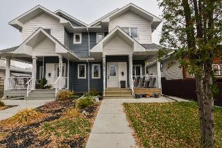 Main Photo: 10319 145 Street in Edmonton: Zone 21 House Half Duplex for sale : MLS® # E4085669