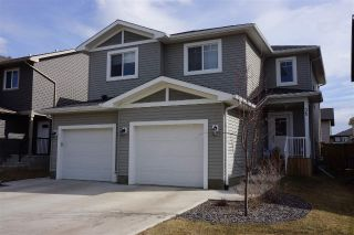 Main Photo: 35 ROSEBERRY Lane: Fort Saskatchewan House Half Duplex for sale : MLS®# E4108831