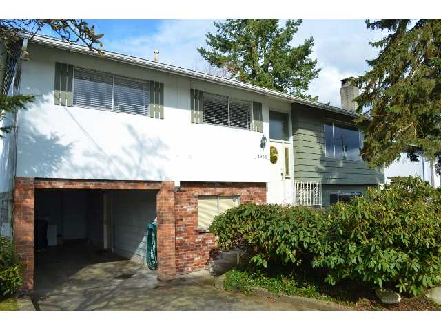 Main Photo: 1935 ROUTLEY AV in Port Coquitlam: Lower Mary Hill House for sale : MLS(r) # V937180