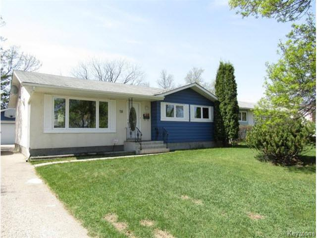 Main Photo: 78 Madera Crescent in Winnipeg: Maples / Tyndall Park Residential for sale (North West Winnipeg)  : MLS®# 1613064