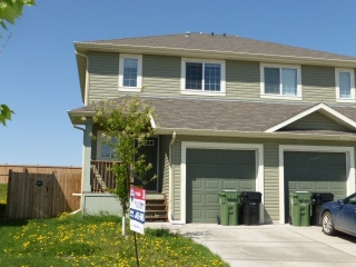 Main Photo: 46 DUNLOP Wynd: Leduc House Half Duplex for sale : MLS® # E4056367
