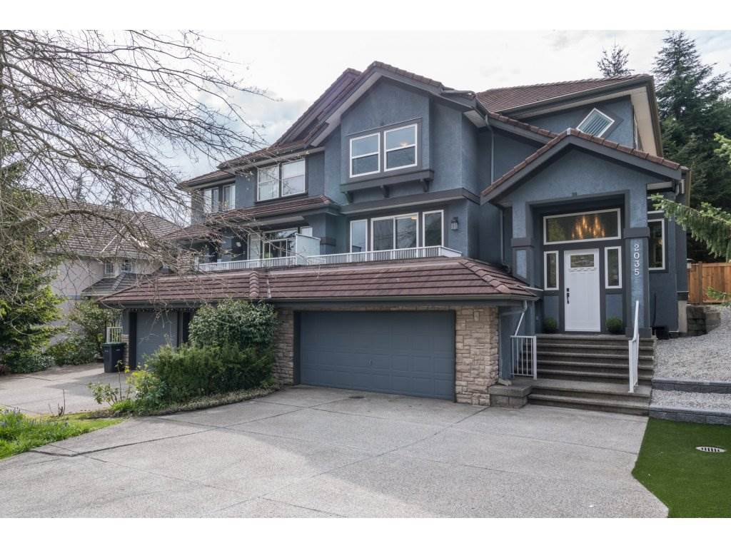 Main Photo: 2035 PARKWAY Boulevard in Coquitlam: Westwood Plateau House 1/2 Duplex for sale : MLS(r) # R2168235
