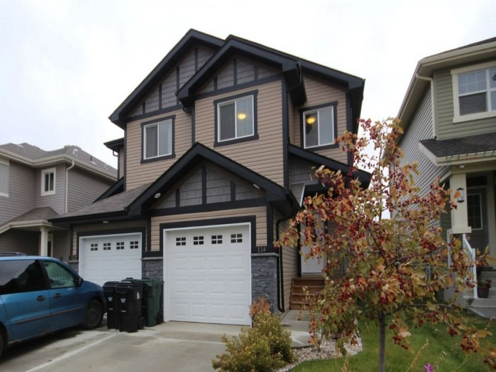 Main Photo: 114 Springwood Way: Spruce Grove House Half Duplex for sale : MLS® # E4082889