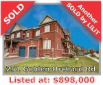 Main Photo: 251 Golden Orchard Rd in Vaughan: Patterson Freehold for sale