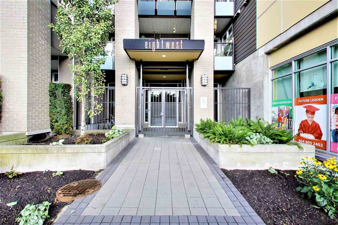Main Photo: 316 55 EIGHTH AVENUE in New Westminster: GlenBrooke North Condo for sale : MLS® # R2211489