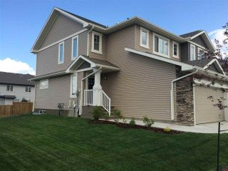 Main Photo: 217 SUNTERRA Way: Sherwood Park House Half Duplex for sale : MLS® # E4090079