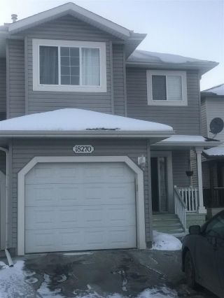 Main Photo: 18270 104A Street NW in Edmonton: Zone 27 House Half Duplex for sale : MLS® # E4097485