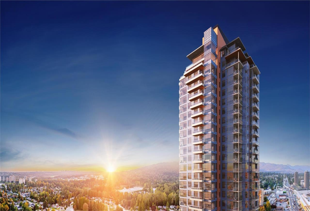 "Main Photo: 503 509 CLARKE Road in Coquitlam: Coquitlam West Condo for sale in ""BURQUITLAM CAPITAL"" : MLS®# R2257679"