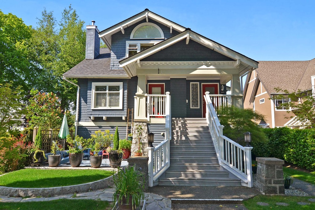 1893 w 13th avenue in vancouver kitsilano townhouse for for Vancouver bc houses