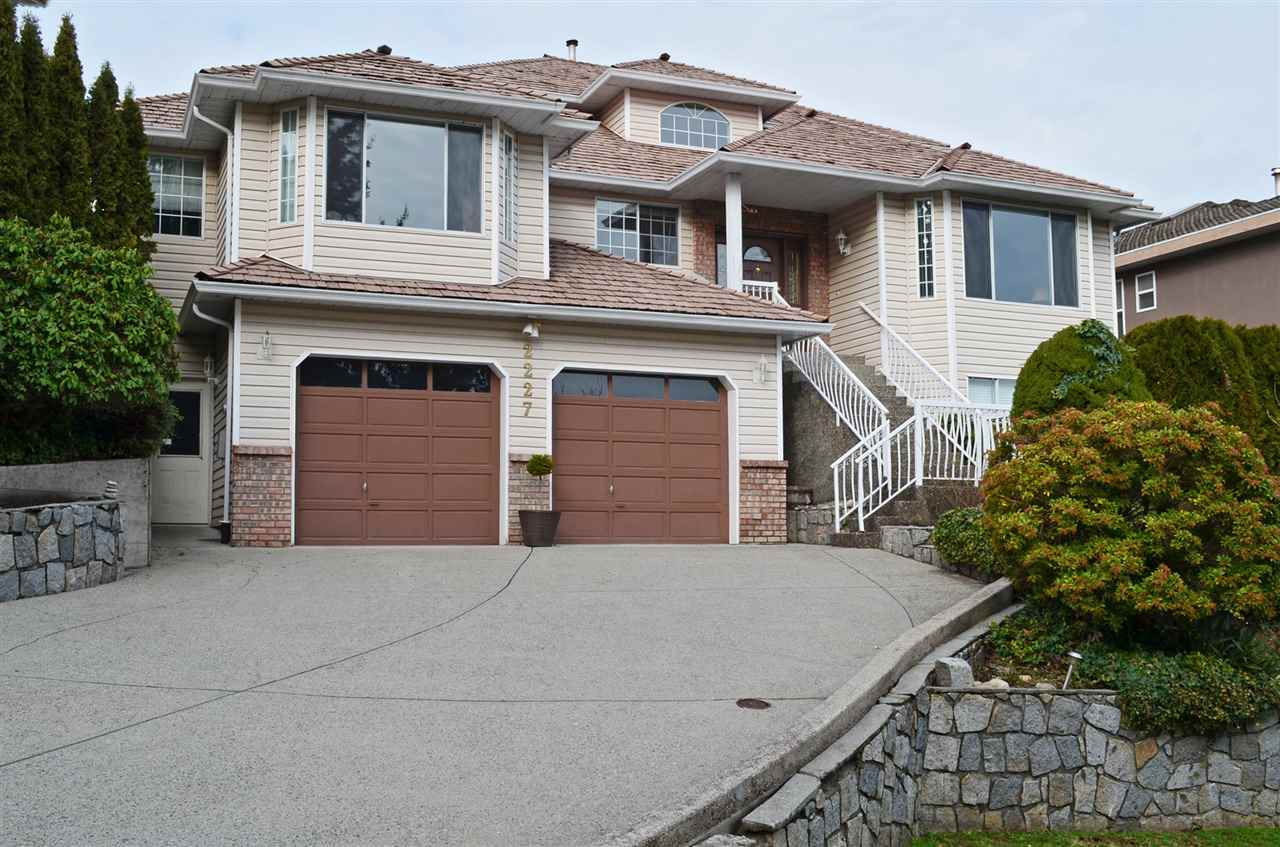 Main Photo: 2227 SORRENTO Drive in Coquitlam: Coquitlam East House for sale : MLS® # R2030402