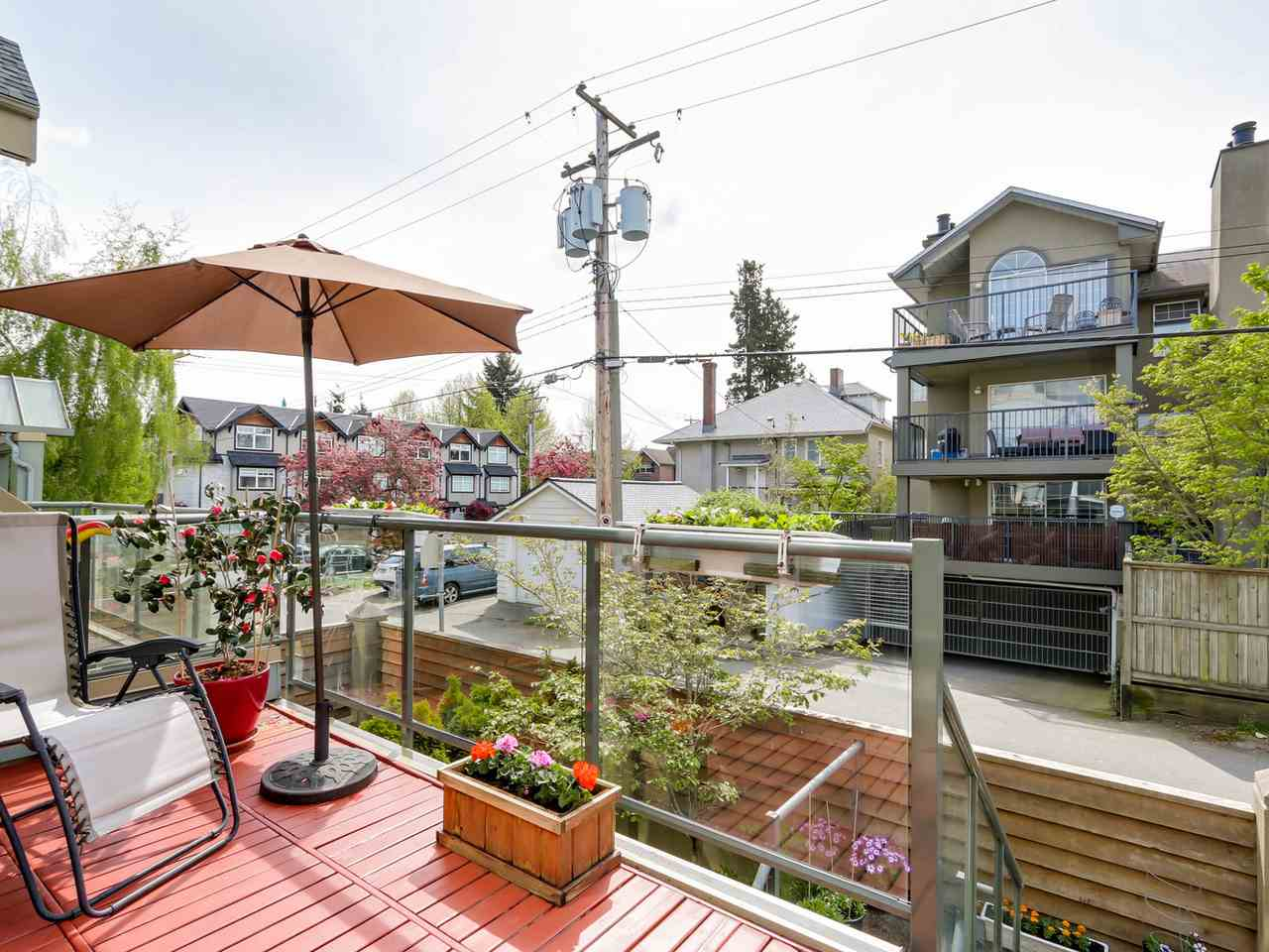 "Photo 9: 3011 LAUREL Street in Vancouver: Fairview VW Townhouse for sale in ""FAIRVIEW COURT"" (Vancouver West)  : MLS® # R2058843"
