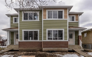Main Photo: 10247 152 Street in Edmonton: Zone 21 House Half Duplex for sale : MLS(r) # E4052242