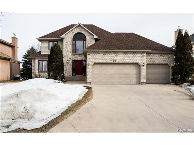 Main Photo: 35 Royal Park Crescent in Winnipeg: Southland Park Residential for sale (2K)  : MLS® # 1706238
