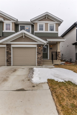 Main Photo: 1739 HAMMOND Crescent in Edmonton: Zone 58 House Half Duplex for sale : MLS(r) # E4056239