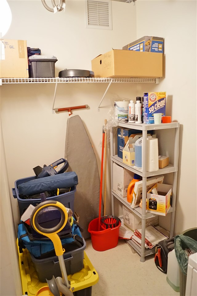 19) Storage adjacent to laundry
