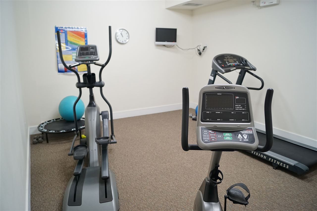 30) Exercise room on 2nd floor outside elevator