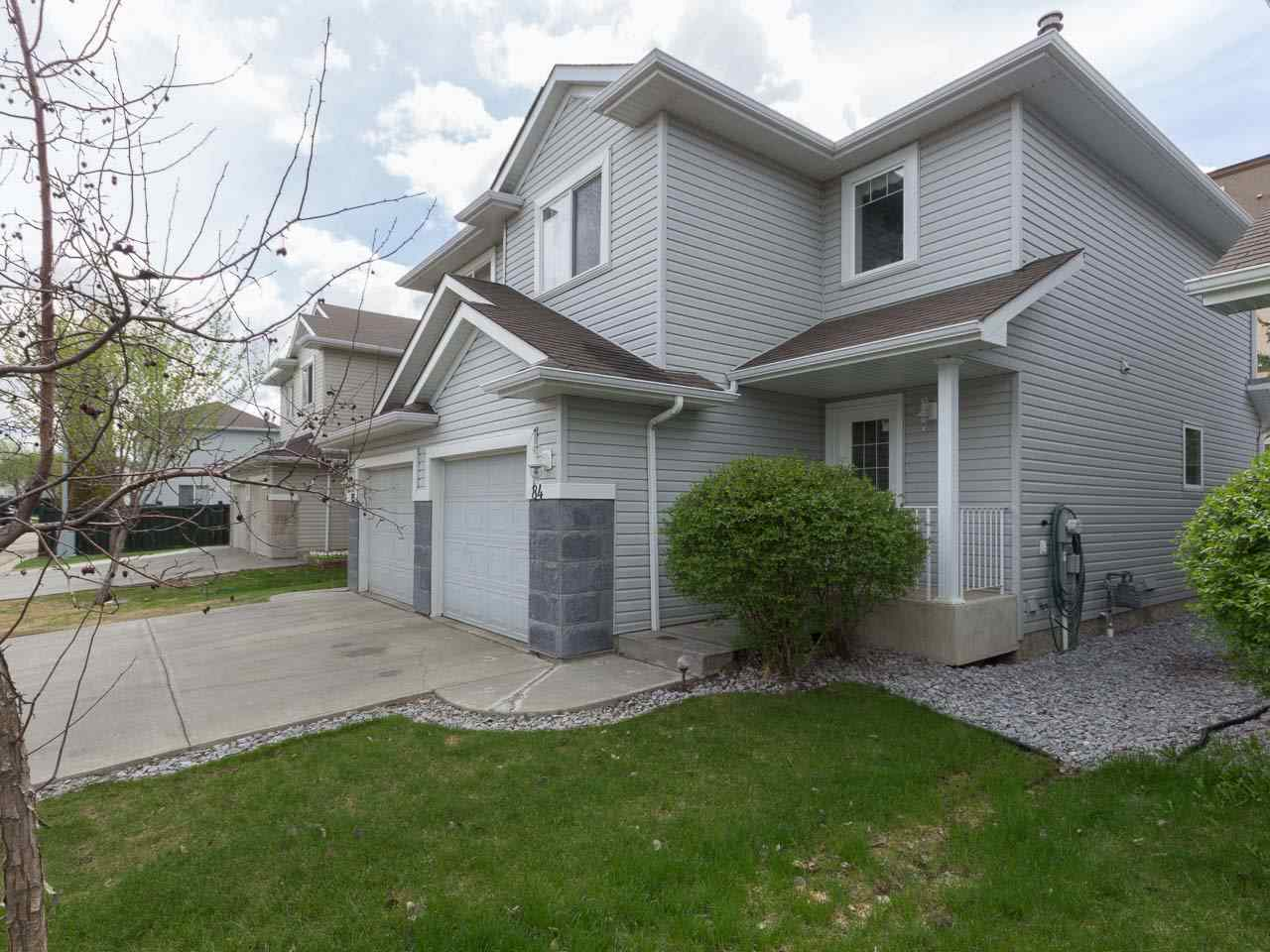 Main Photo: 84 2021 GRANTHAM Court NW in Edmonton: Zone 58 House Half Duplex for sale : MLS(r) # E4064776