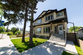 Main Photo: 8820 92 Street NW in Edmonton: Zone 18 House Half Duplex for sale : MLS(r) # E4067044