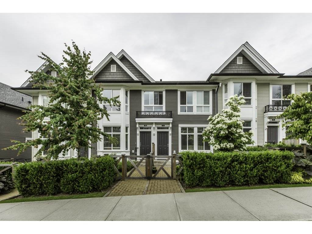 "Main Photo: 11 14433 60 Avenue in Surrey: Sullivan Station Townhouse for sale in ""BRIXTON"" : MLS(r) # R2179960"