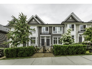 "Main Photo: 11 14433 60 Avenue in Surrey: Sullivan Station Townhouse for sale in ""BRIXTON"" : MLS® # R2179960"