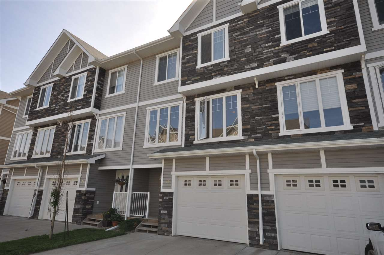 Main Photo: 35 9904 101 Avenue: Morinville Townhouse for sale : MLS(r) # E4070092
