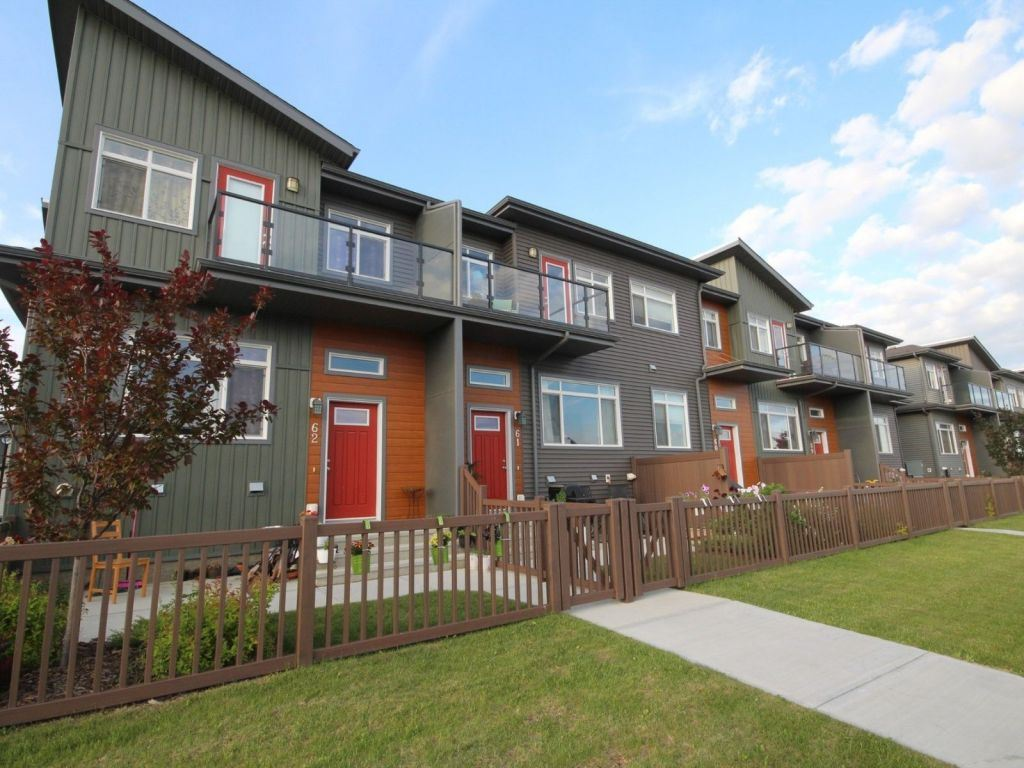 Main Photo: 61 7503 Getty Gate in Edmonton: Zone 58 Townhouse for sale : MLS® # E4073855