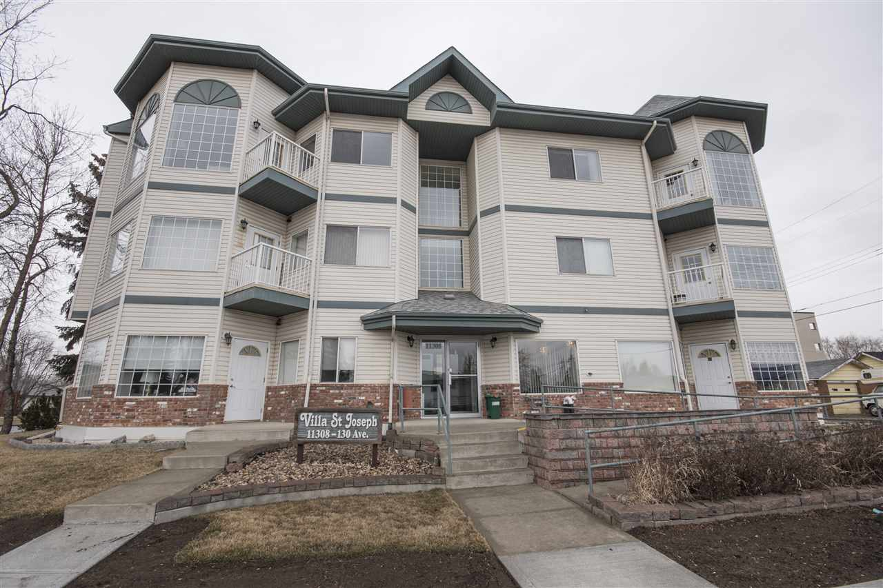 Main Photo: 204 11308 130 Avenue in Edmonton: Zone 01 Condo for sale : MLS(r) # E4074007