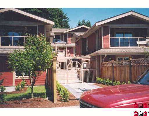 "Main Photo: 3 14921 THRIFT AV: White Rock Townhouse for sale in ""Nicole Place"" (South Surrey White Rock)  : MLS®# F2601618"