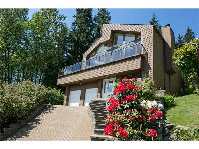 Main Photo: 2177 BADGER Road in North Vancouver: Deep Cove House for sale : MLS® # V952545