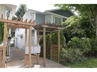 Main Photo: 1285 W 16TH Street in North Vancouver: Norgate House 1/2 Duplex for sale : MLS® # V1070171