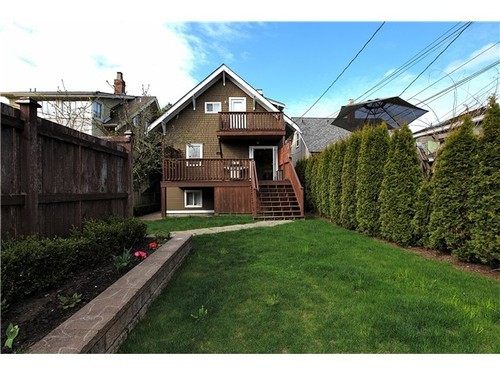 Photo 10: 116 20TH Ave W in Vancouver West: Cambie Home for sale ()  : MLS(r) # V943731