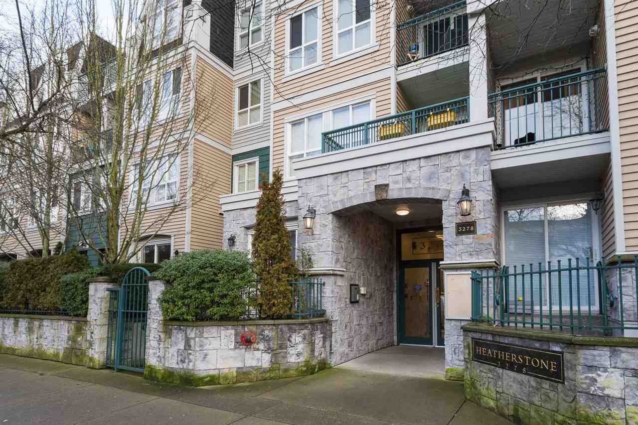 "Main Photo: 211 3278 HEATHER Street in Vancouver: Cambie Condo for sale in ""HEATHERSTONE"" (Vancouver West)  : MLS®# R2030479"