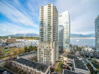 Main Photo: 1002 1228 W HASTINGS STREET in : Coal Harbour Condo for sale : MLS® # R2027351
