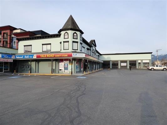 Main Photo: 101 45863 YALE Road in Chilliwack: Chilliwack W Young-Well Retail for lease : MLS® # C8011490