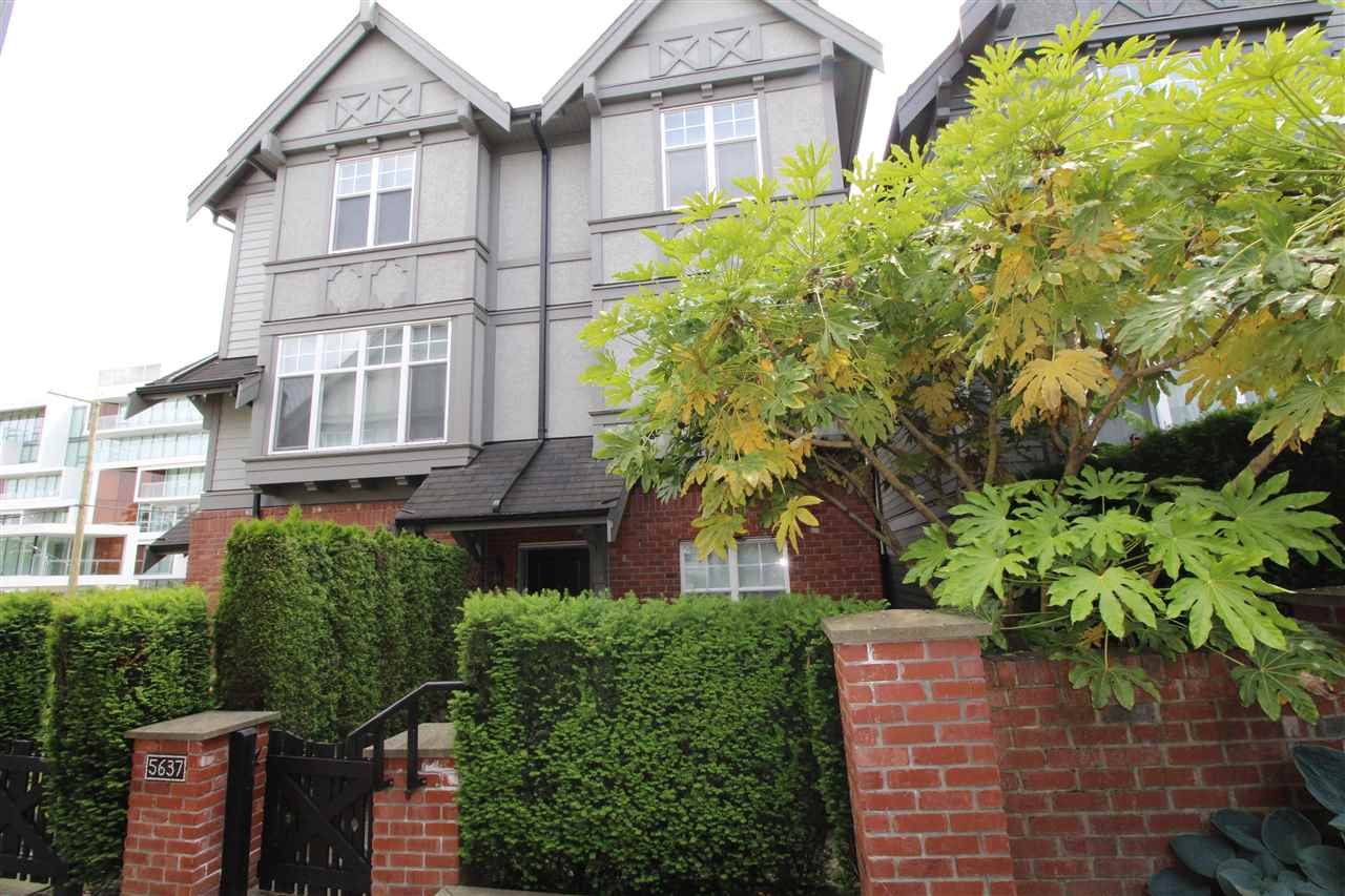 "Main Photo: 5637 WILLOW Street in Vancouver: Cambie Townhouse for sale in ""WILLOW"" (Vancouver West)  : MLS(r) # R2174798"