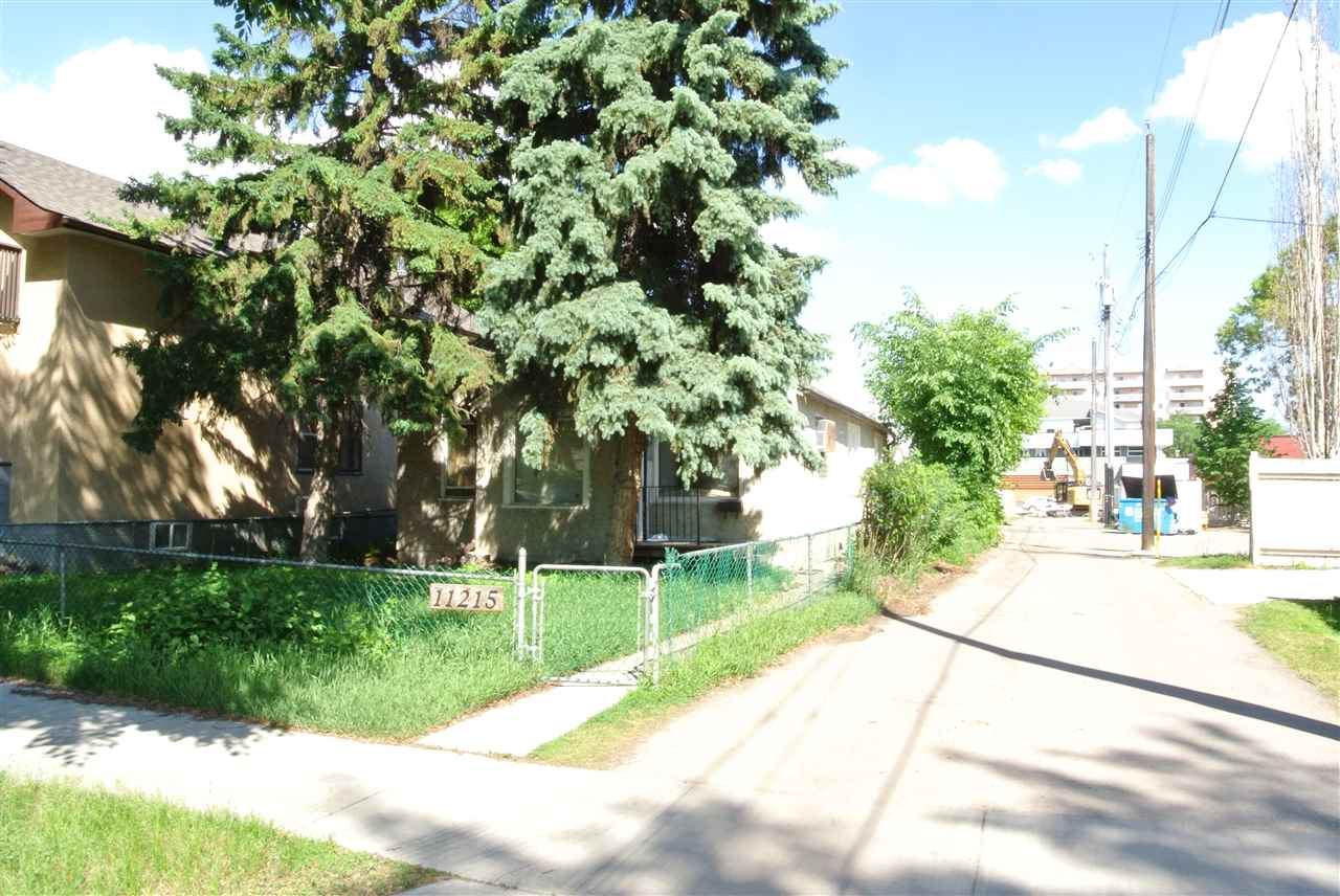 Main Photo: 11215 87 Street in Edmonton: Zone 05 Vacant Lot for sale : MLS(r) # E4068737